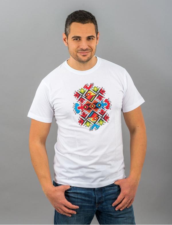 Мужская футболка со штампованной вышивкой «Свадьба»