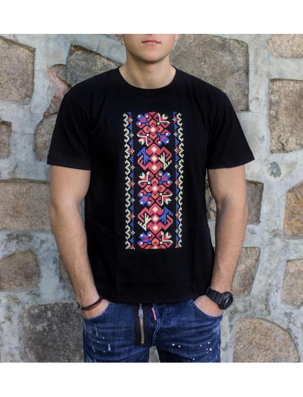 """Camiseta de caballero con la estampa del bordado de """"Harmony"""""""