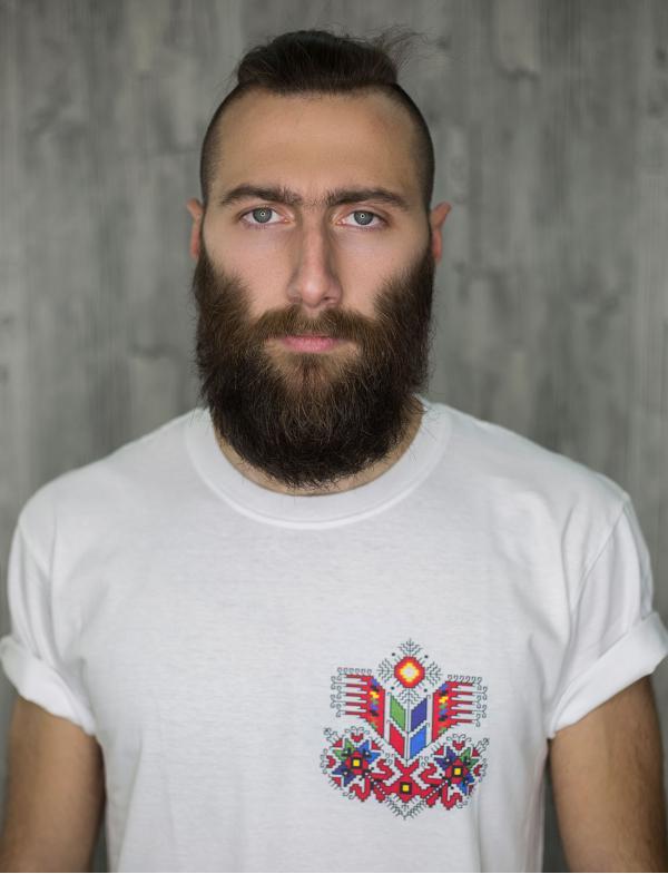 """Мъжка тениска с Шевица """"Рождество"""""""